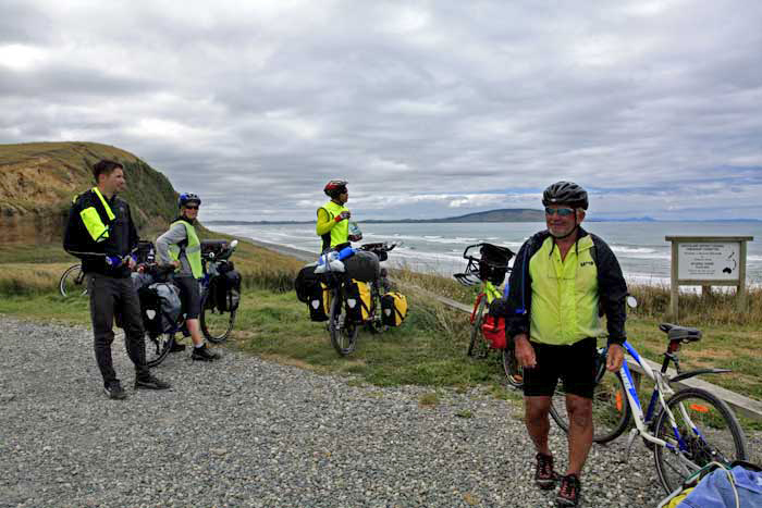 Bicycling South Island New Zealand-Southern Scenic Route