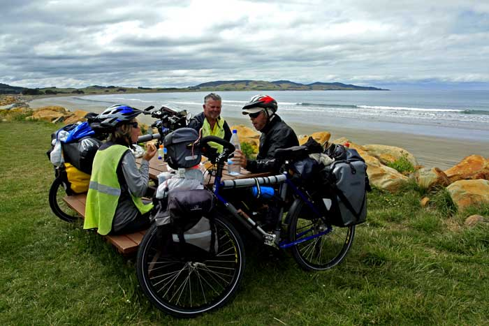 Bicycling South Island New Zealand-Colac Bay