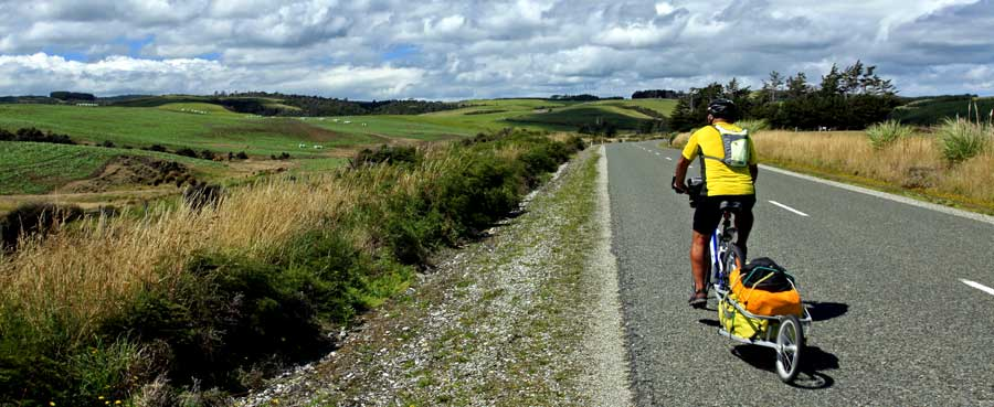 Bicycling South Island New Zealand-Bicycling the Catlins