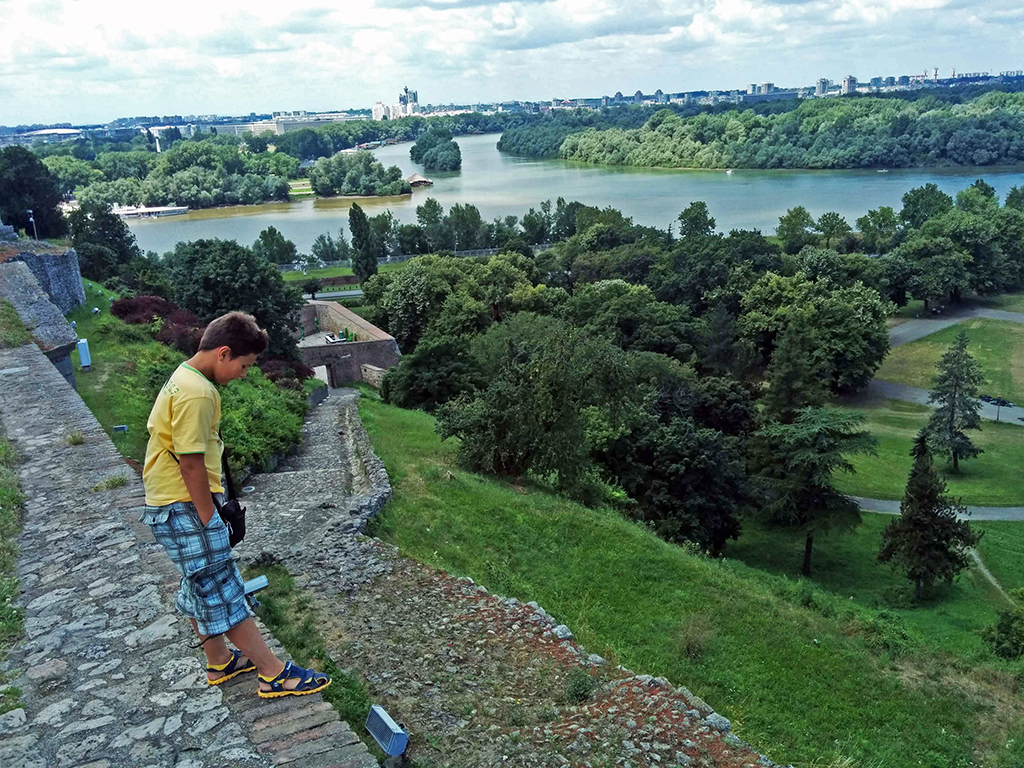 Bicycling Serbia_Belgrade-Kalemegdan Park