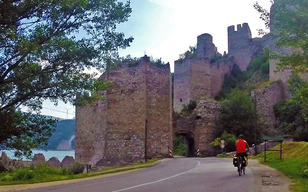 Bicycling-Serbia_Golubac-to-Donji-Milanovac-Golubac Fortress