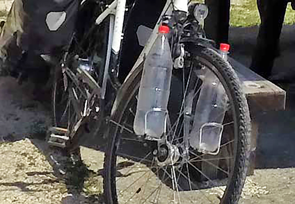 Bicycling-Serbia_Golubac-to-Donji-Milanovac-innovative water carriers
