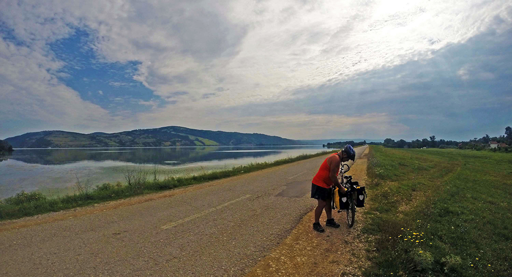 Bicycling Serbia-Stara Palanka to Golubac