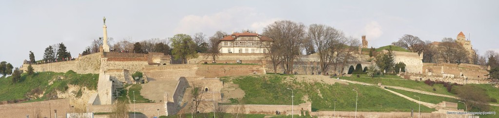 Bicycling Serbia-Belgrade-Kalemegdan_-_panorama_Danimir-Commons wikipedia