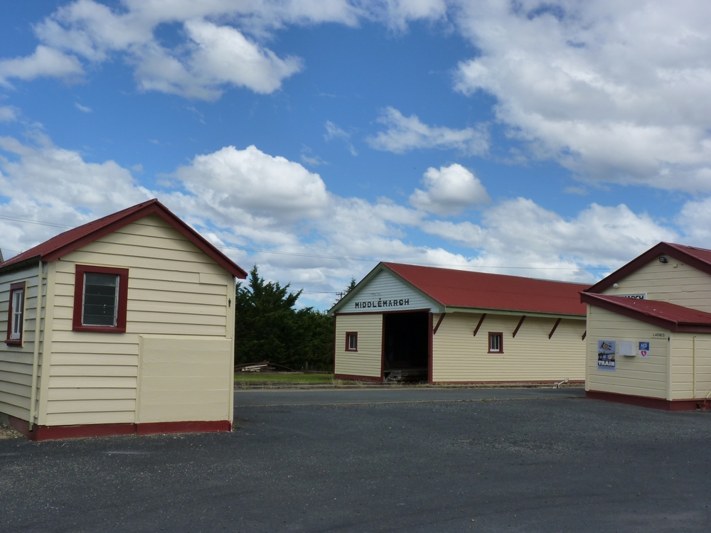 Bicycling South Island New Zealand-Otago Rail Trail-Middlemarch Station by Stephanie Le Rat