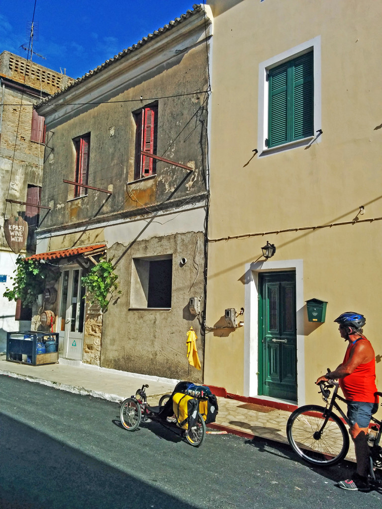 Bicycling Corfu_Kavos to Benitses-Lefkimmi