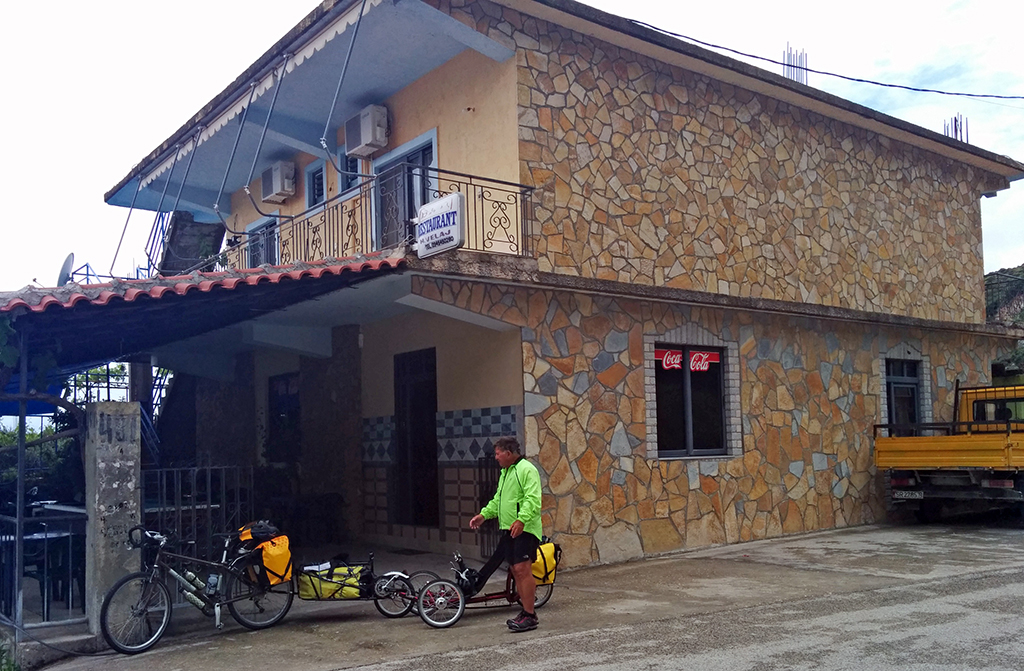 Bicycling Albania- Lukov to Vlore
