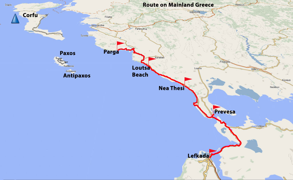 Bicycling Mainland-Greece-Map-